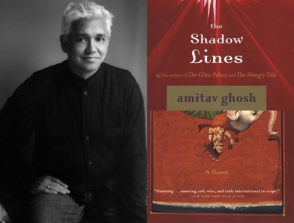 This picture contains photo of Amitav Ghosh